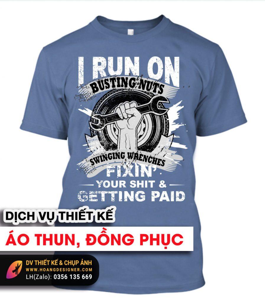 Thiết kế áo thun chuyên nghiệp tại tphcm