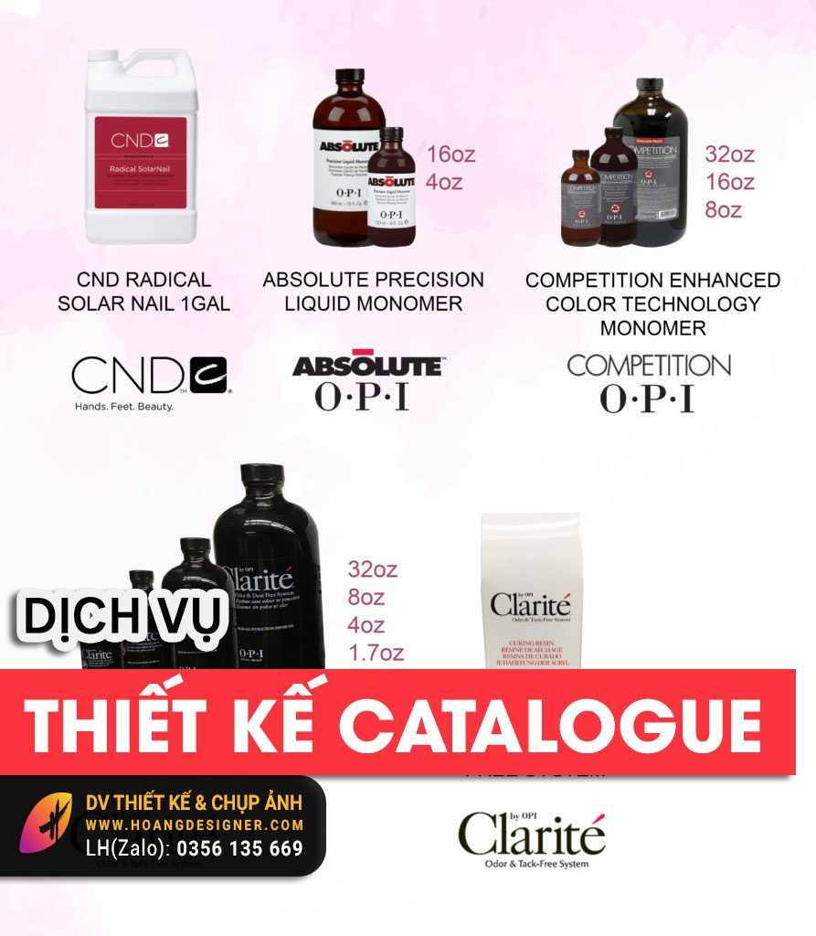Thiết kế Catalogue chuyên nghiệp giá rẻ tphcm