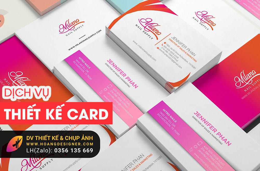 Thiết kế danh thiếp card giá rẻ tphcm