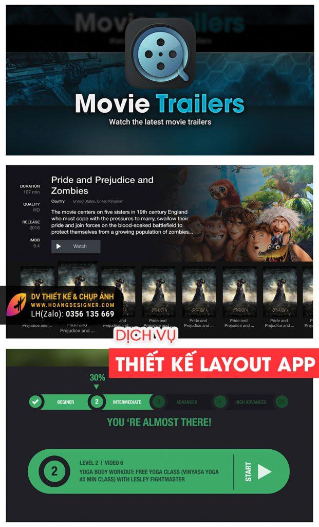 Thiết kế Layout Icon App chuyên nghiệp tphcm