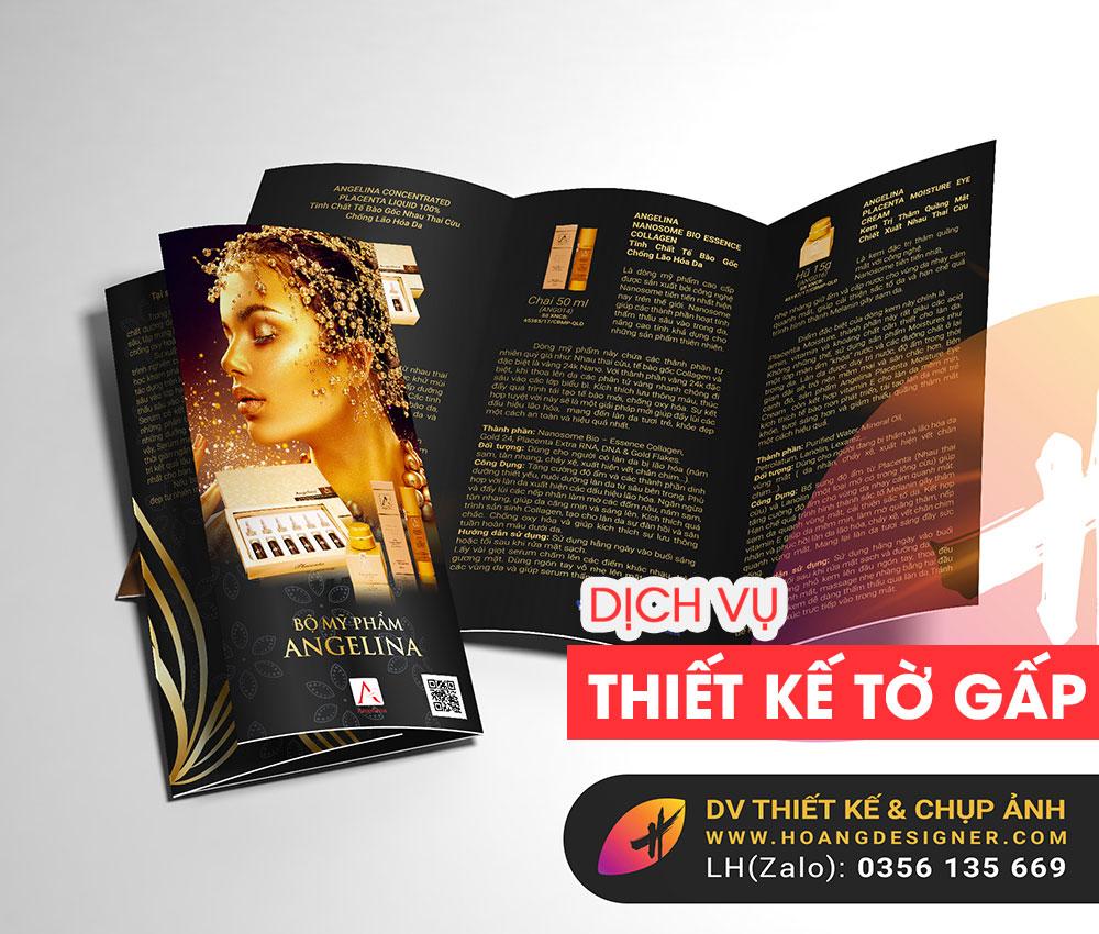 Thiết kế Brochure chuyên nghiệp giá rẻ tphcm