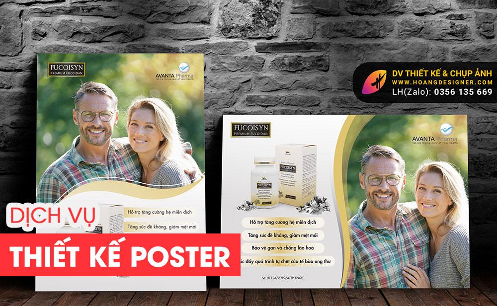 Thiết kế Poster chuyên nghiệp giá rẻ tphcm